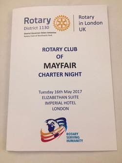 Charter Night