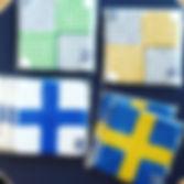 Oslo/OSLO/oslo/ordermade / オーダーメイド/カスタムオーダー/handmade/コースター / 釜石コースター/復興支援/震災/復興支援品/東北/釜石/宝来館/ハンドメイド/北欧雑貨/北欧/キッチン