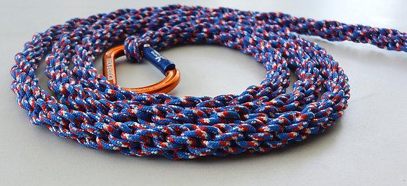 5ft Small Carabiner Dog leash (Orange Carabiner)