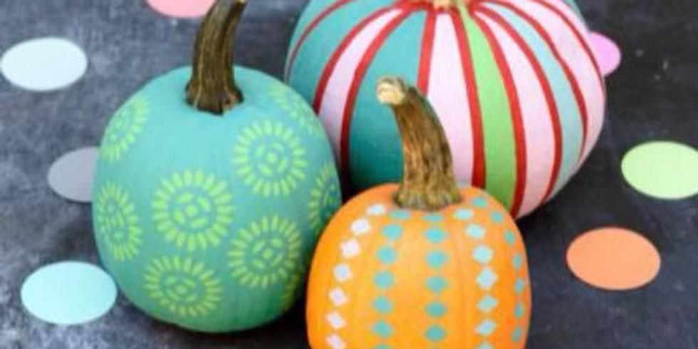 Decorate a Pumpkin! Monday 10/14