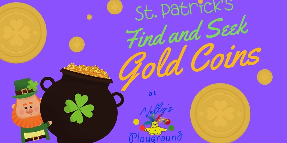 Find and Seek Gold Coins! St. Patricks Edition!