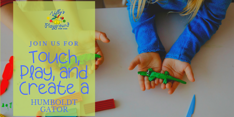 Touch, Play, and Create a Humboldt Gator
