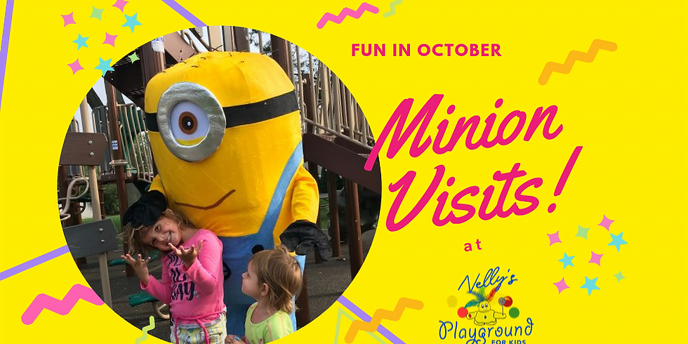 Minion Visits Nelly's Playground!