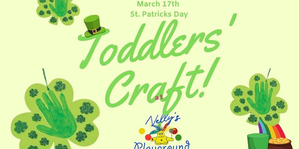 Toddler's Saint Patrick's Day Craft