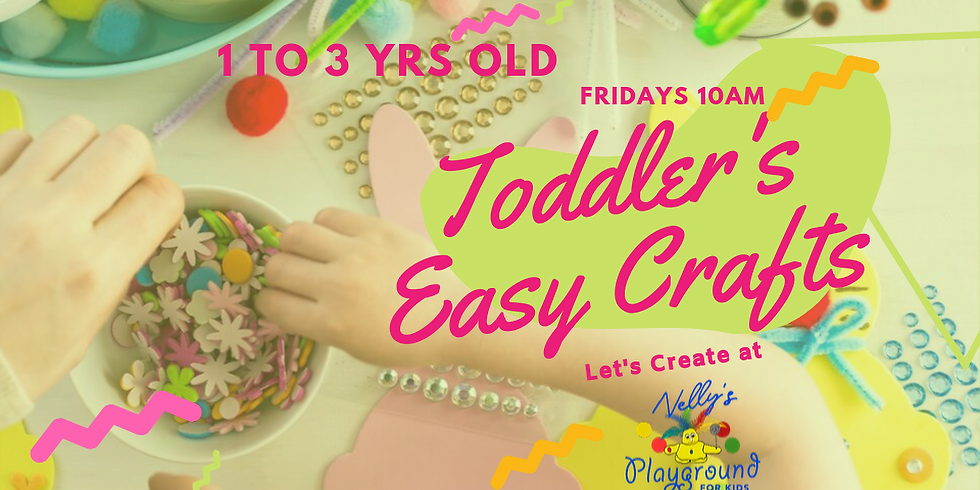 Toddler's Easy Crafts 10/25