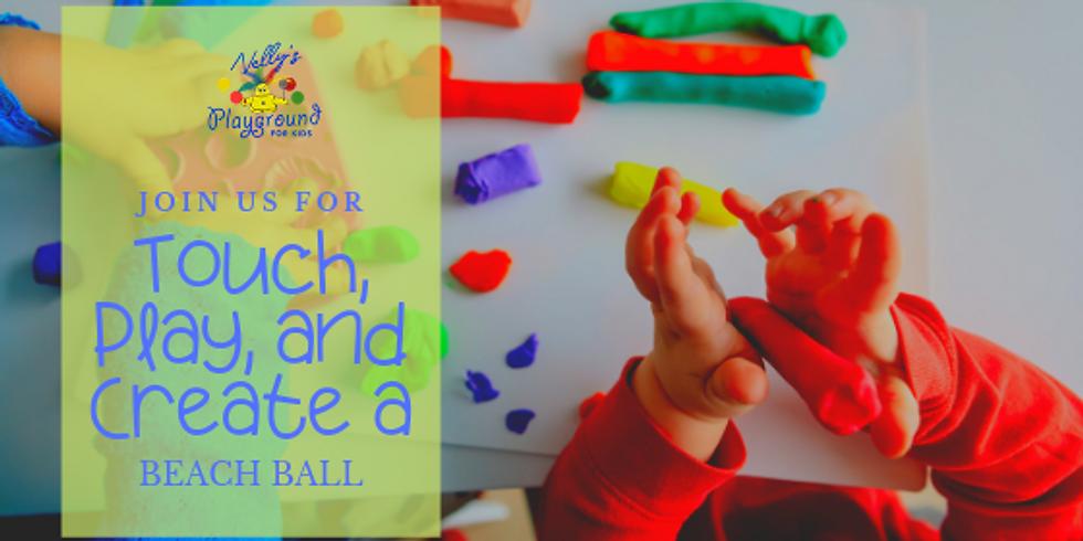 Touch, Play, and Create a Beach Ball