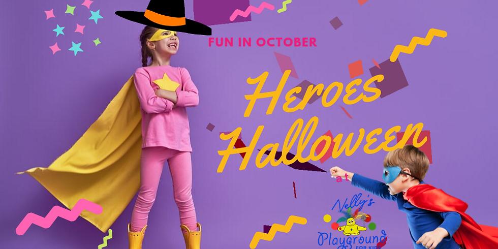 Heroes Halloween Day!