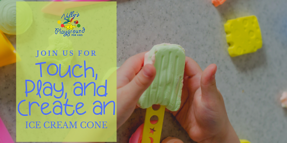 Touch, Play, and Create an Ice Cream Cone