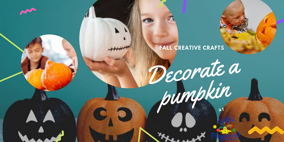Pumpkin Decoration Friday 10/18