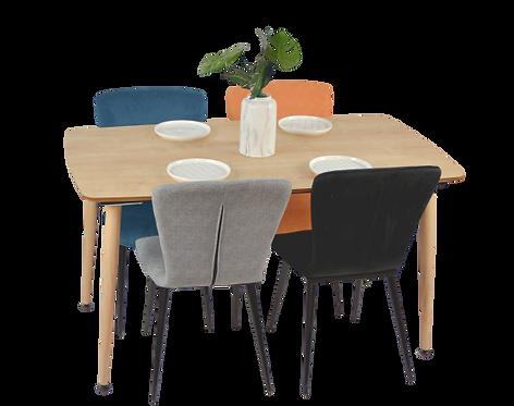 שולחן מלבן 140 סמ