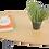 Thumbnail: שולחן אובלי צבע אלון מבוקע