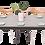 Thumbnail: שולחן אוכל נפתח צבע בטון