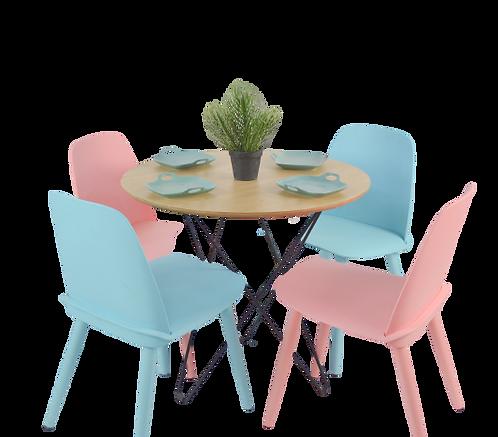 שולחן קיץ עגול