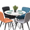 Thumbnail: שולחן קיץ עגול לבן