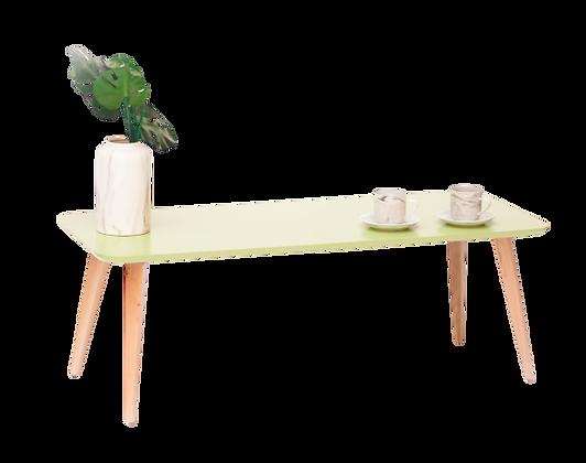 שולחן מלבן ירוק