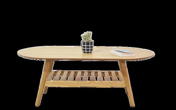 שולחן סולם אובלי