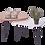 Thumbnail: זוג שולחנות טיפה קטנים אלון וצבע