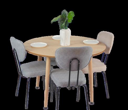 שולחן עגול קוטר 110 סמ