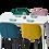 Thumbnail: שולחן מלבן לבן נפתח