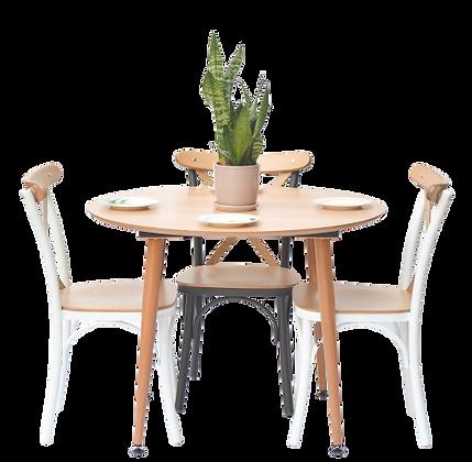 שולחן עגול קטן