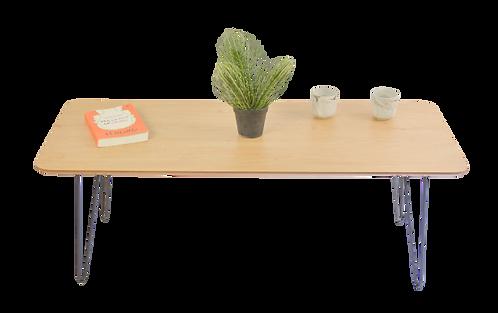 שולחן מלבן צבע אלון