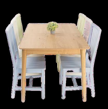 שולחן אוכל נפתח מלבן