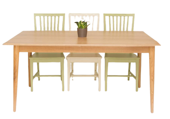 שולחן כפרי מודרני
