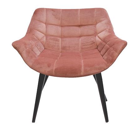 כורסא הולנדית ורוד עתיק