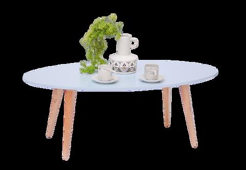 שולחן אובלי תכלת