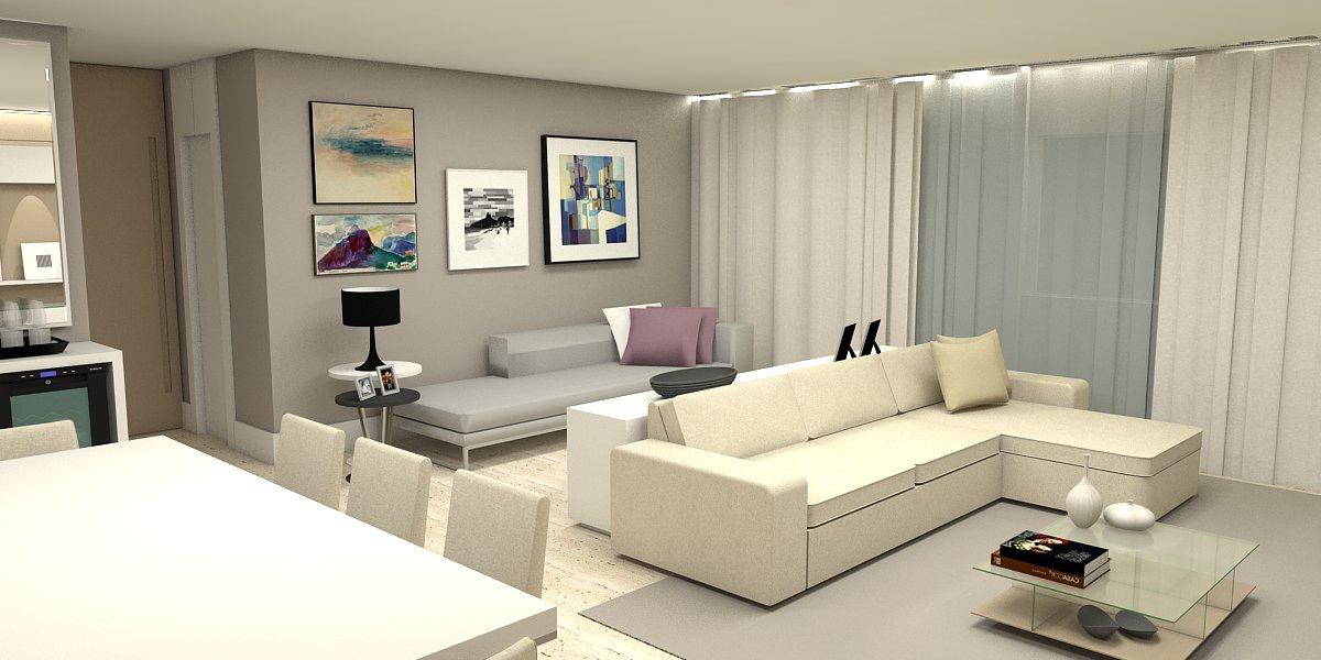 Apartamento 137m² - Cocó