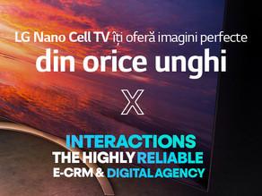 LG si INTERACTIONS surprind puritatea culorilor in noua campanie Nano Cell TV