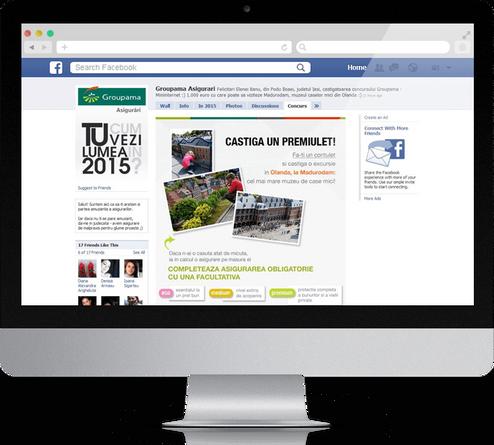 Groupama Facebook page 2