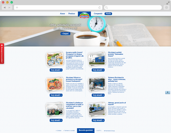 Hochland website launch 7