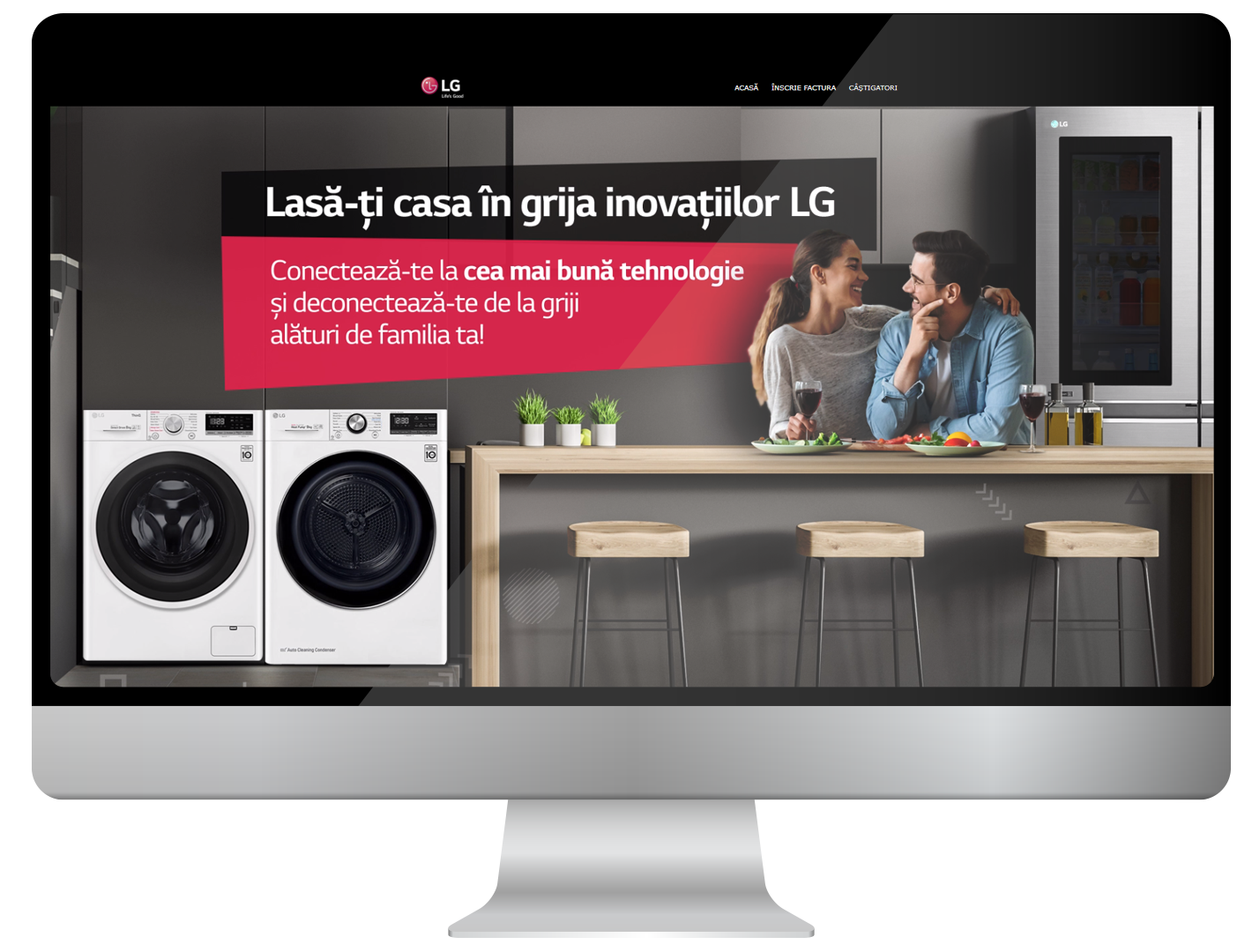 Mixing LG products into a new campaign