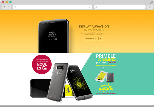 We present you the new LG G5 5