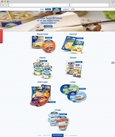 Hochland website launch 5
