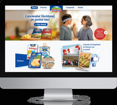 Hochland website launch 1