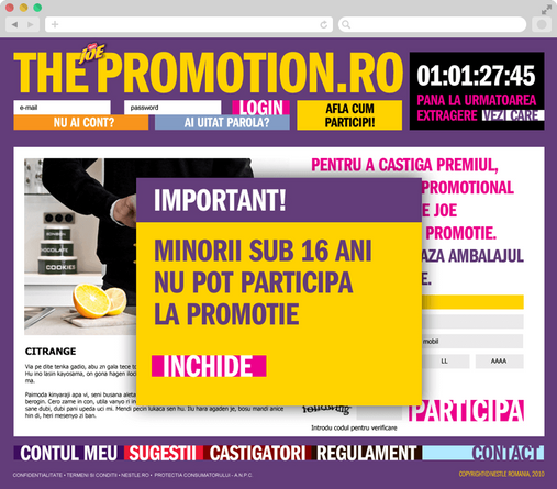 The promotion 3