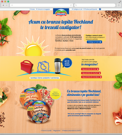 Win with Hochland melted cheese 2
