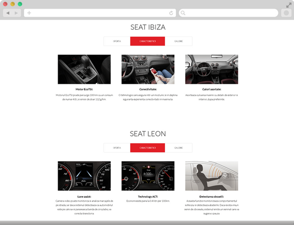 Seat's special offers 4