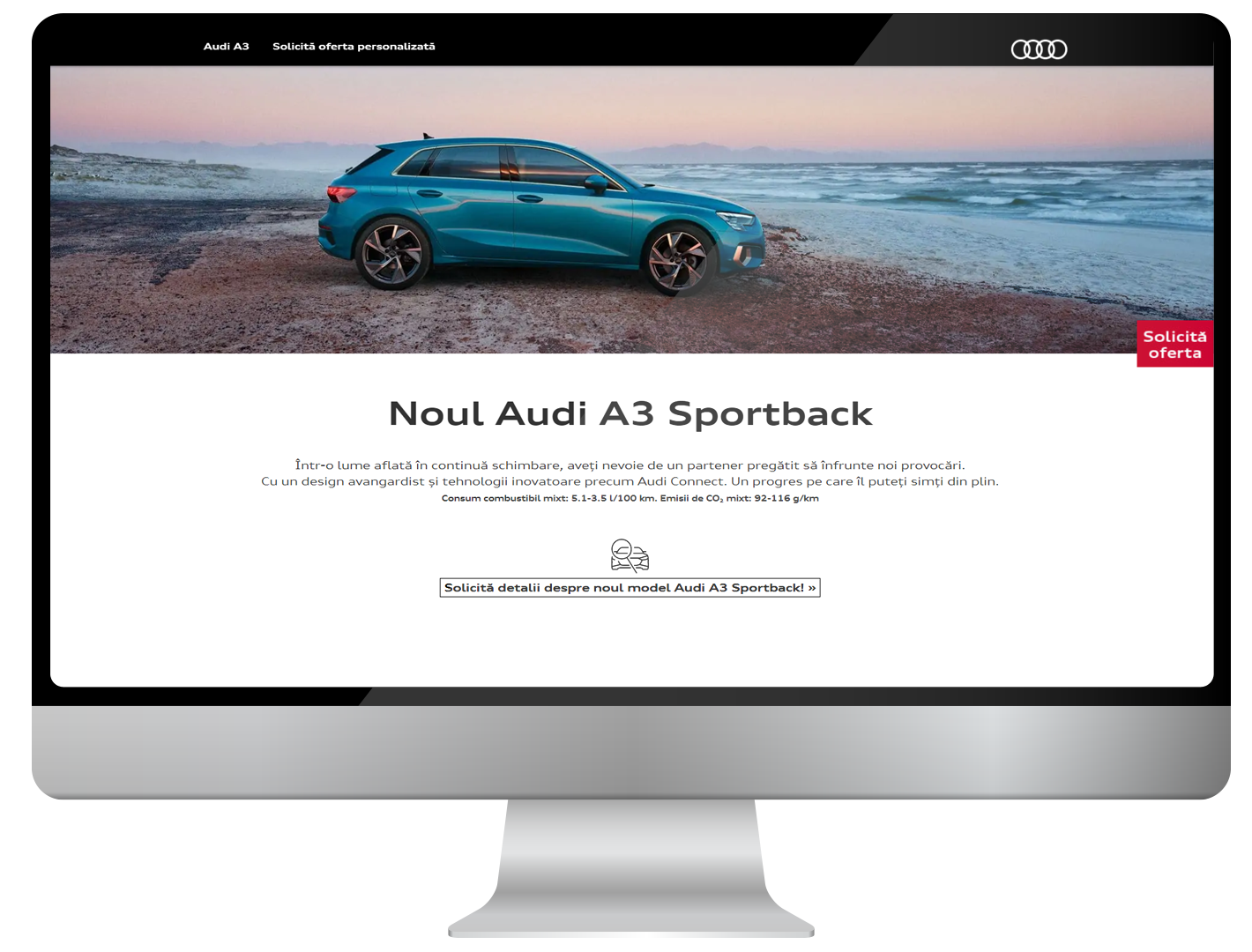 Users of the internet, meet Audi A3