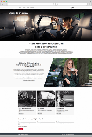 Meet Mihaela Bilic, Audi's ambassador 2