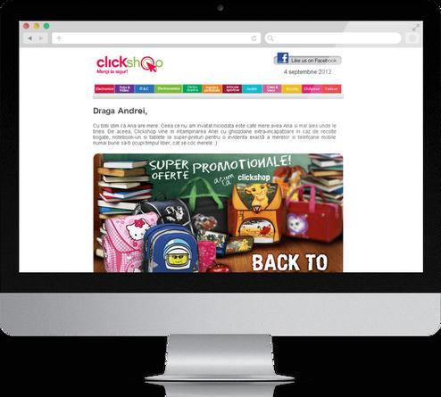 Clickshop Newsletter 1