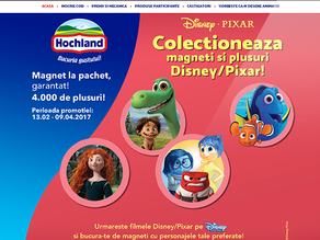 Hochland Romania si INTERACTIONS intra in lumea Disney