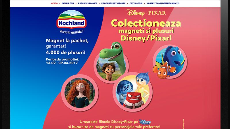 cel mai bun site web ofera reduceri vânzarea de încălțăminte Hochland Romania si INTERACTIONS intra in lumea Disney