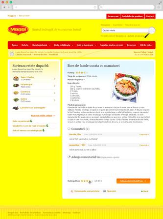 Maggi Brand Website 3
