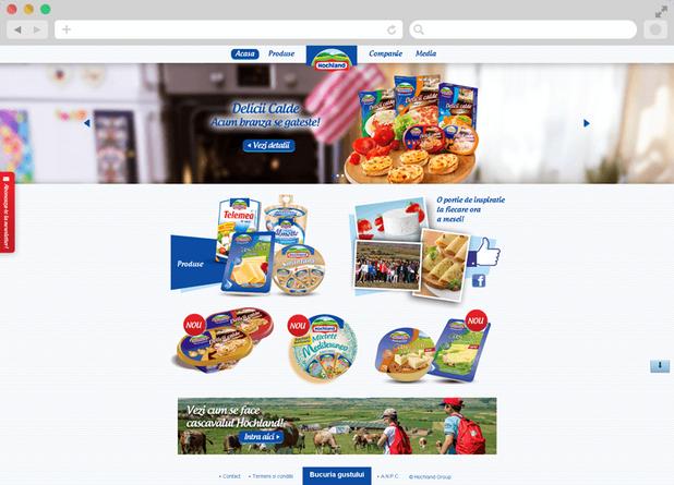 Hochland website launch 4