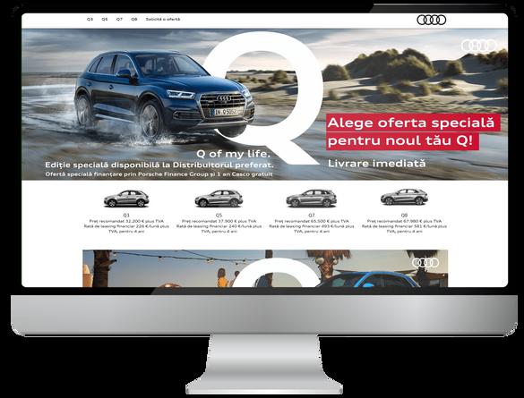 Catch Audi's vibe 2