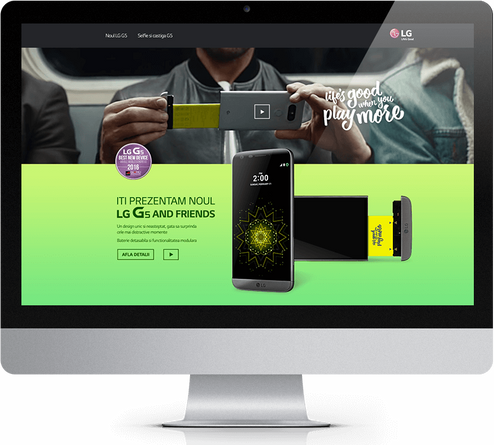 We present you the new LG G5 1