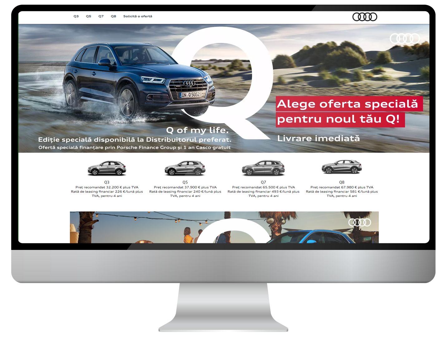 Catch Audi's vibe